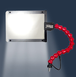 Flex-Mount Face Shield with LED Lights