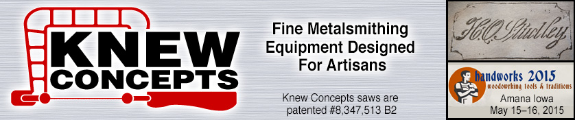 Knew Concepts - Fine Metalsmithing Equipment Designed for Artisans